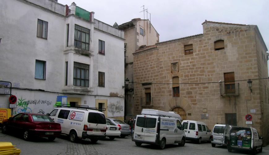 Plaza del Duque. Antes.