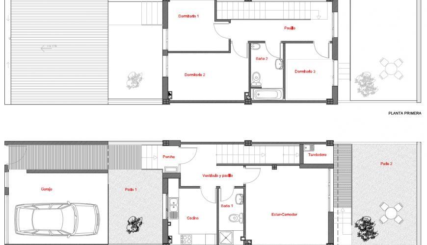 Proyecto de 40 viviendas unifamiliares en miajadas - Proyectos casas unifamiliares ...
