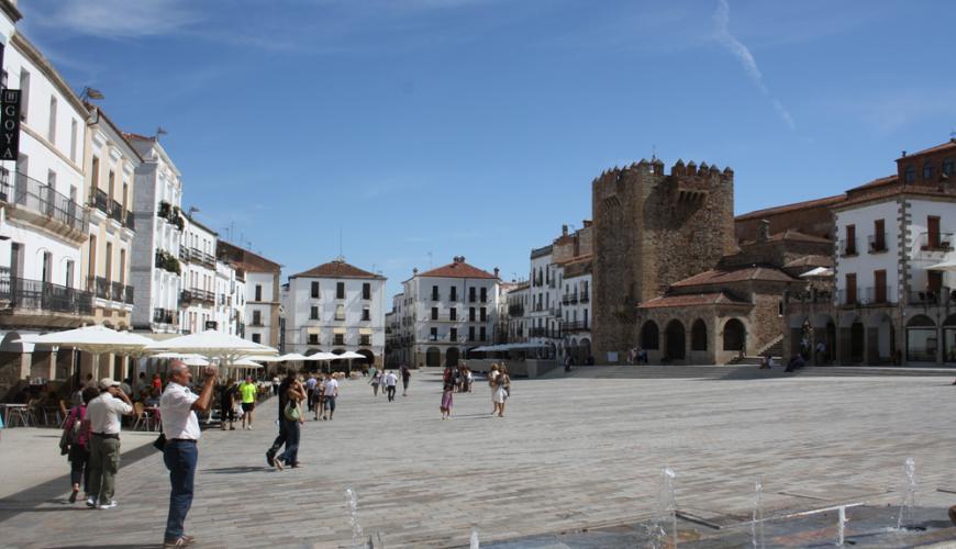 Plaza mayor Cáceres_01