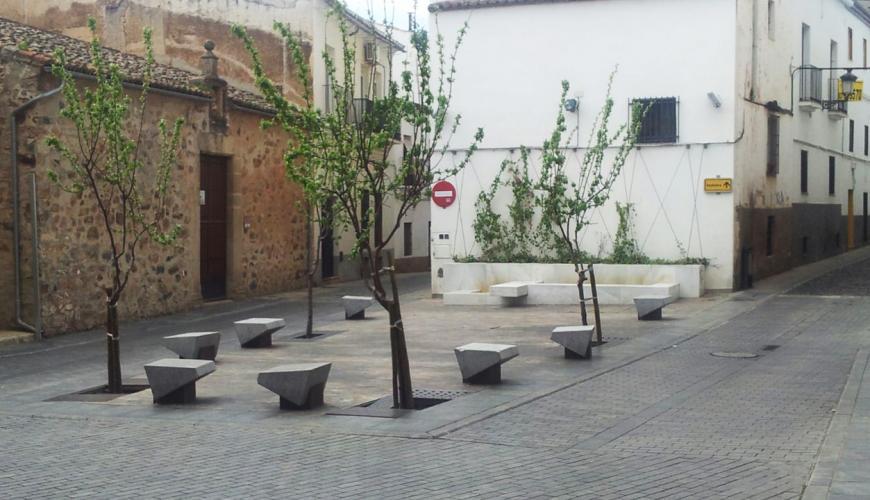 Plaza de la Soledad. Vista general.